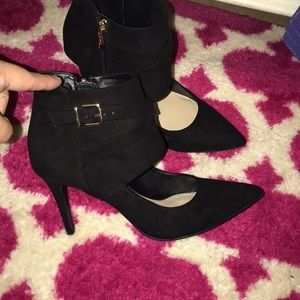 BCBG black shoes
